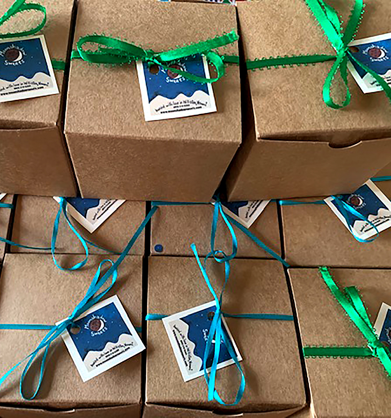 Moonshadow Sweets small-batch, artisan chocolate treats made in Vermont from the finest ingredients